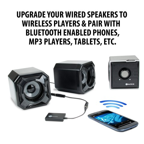 BlueGATE Wireless Bluetooth Receiver & Adapter