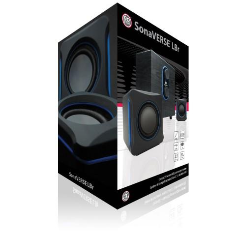 SonaVERSE LBr USB Powered 2.1 Computer Speaker System