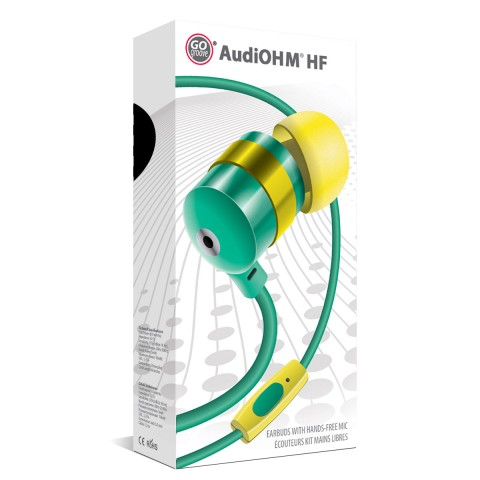 GOgroove AudiOHM HF Green