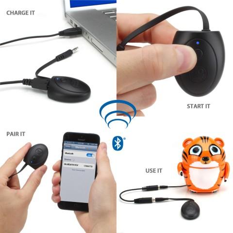 BlueGATE RCV Wireless Bluetooth Receiver