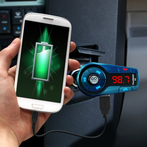 FlexSMART X2 Mini In-Car Bluetooth FM Transmitter